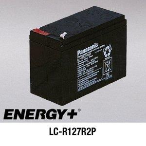 FedCo Batteries Compatible with Panasonic LC-R127R2P 7200mAh Sealed Lead Acid Battery For Standby And Main Power Applications