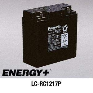 FedCo Batteries Compatible with Panasonic LC-RD1217P 17000mAh Sealed Lead Acid Battery For Standby And Main Power Applications