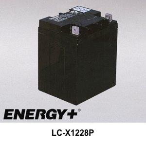 FedCo Batteries Compatible with Panasonic LC-X1228P 28000mAh Sealed Lead Acid Battery For Standby And Main Power Applications