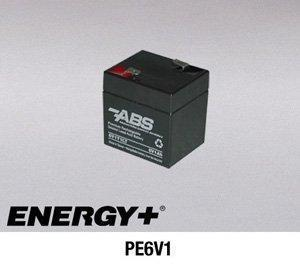 FedCo Batteries Compatible with PowerSonic PE6V1 1100mAh Sealed Lead Acid Battery For Standby And Main Power Applications