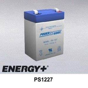 FedCo Batteries Compatible with PowerSonic PS1227 2900mAh Sealed Lead Acid Battery For Standby And Main Power Applications