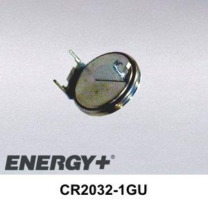 FedCo Batteries Compatible with Renata CR2032-1GU 220mAh Lithium Coin Cell For Printed Circuit Board Mounting