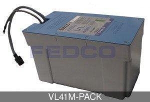 FedCo Batteries Compatible with Saft VL41M-PACK 528 WH Super-Phosphate Battery For Medical Carts And Industrial Applications