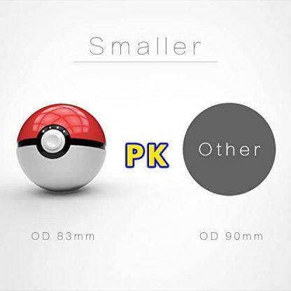 New Pokeball Power Bank, Light Version 12000mAh Pokemon Go Power Bank Charger for iPhone 5 / 6 / 6 Plus / 6S Plus