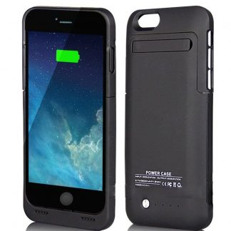 For iphone 6 Black 3500mAh External Battery 4.7 Case Charger Portable Charger Battery  with Stand 4.7inch for iphone 6