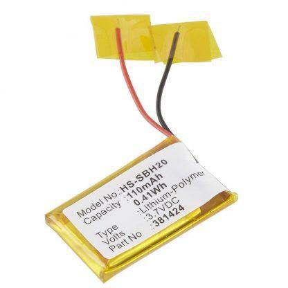 Headset HS-SBH20 Ultralast Lithium V: 3.7