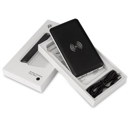 Portable Wireless Charger/Power Bank for iPhone 8/iPhone X or Android