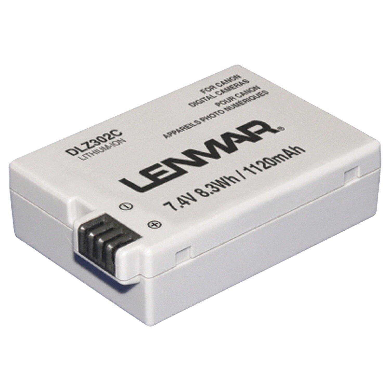 Battery for Canon EOS 550D Kiss X4 Rebel T2i T3i  LP-E8 DLZ302C