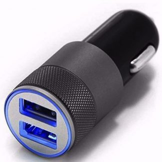 Brilite Mini Dual USB Charger, Twin Port 12V Universal In Car Lighter Socket Charger Adapter plug