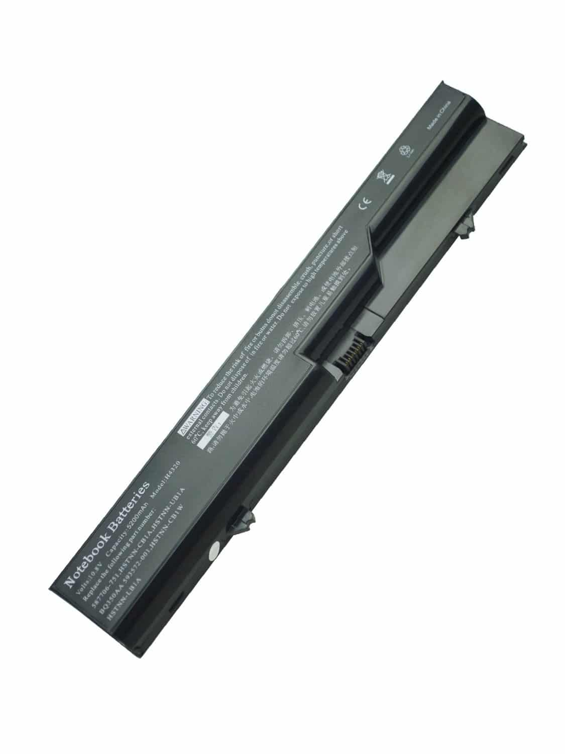 Replacement Battery for Hp Probook 4000 4320s 593572-001 4321s 4320t 4420s Ph06 420 Laptop Battery 6-cells