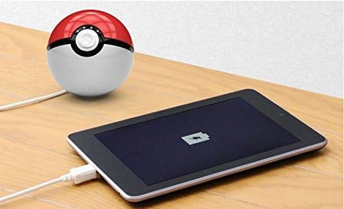 New Pokeball Pokemon Phone Charger Battery Power Bank USB 12000mAh LED Iphone Samsung Android
