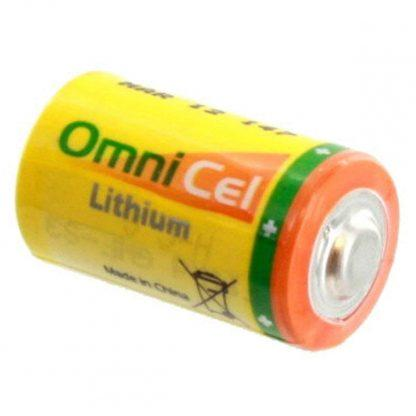 OmniCel ER14250HD/S 3.6V 1/2AA Lithium Standard Terminal Battery Replaces Maxell ER3 ER3S ER3S-TC, Minamoto ER14250, Saft LS-14250 LS-14250C, Sonnenschein SL-150/S SL-350/S SL-750/S
