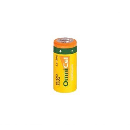 OmniCel ER14335 3.6V 1.65Ah 2/3AA Lithium Button Top Battery
