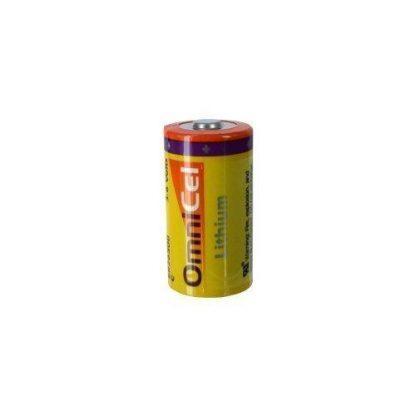 OmniCel ER26500 3.6V 8.5Ah Size C Lithium Button Top Battery by Omnicel