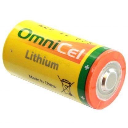 OmniCel ER26500HD 3.6V Size C Lithium Standard Terminal Battery