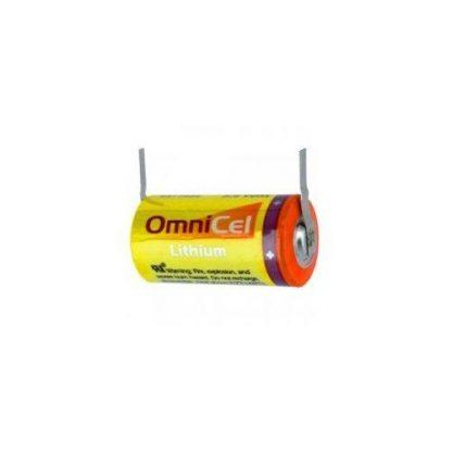 OmniCel ER34615 3.6V 19Ah Size D Lithium Battery with Tabs by Omnicel
