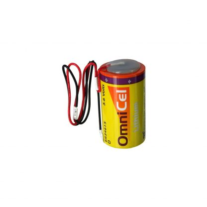 OmniCel ER34615 3.6V 19Ah Size D Lithium Battery with Wire Leads