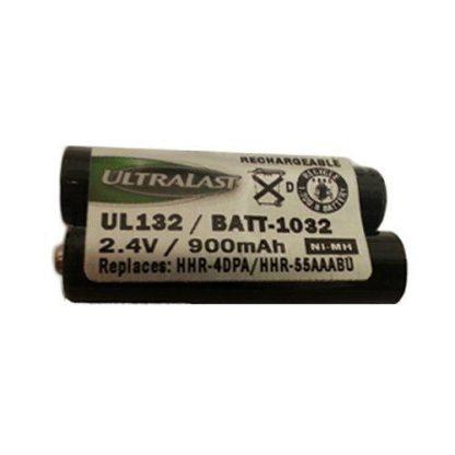 Panasonic KX-TG9341 Cordless Phone Battery Ni-MH, 2.4 Volt, 750 mAh - Ultra Hi-Capacity - Replacement for Panasonic HHR-4DPA, 2 AAA Rechargeable Battery