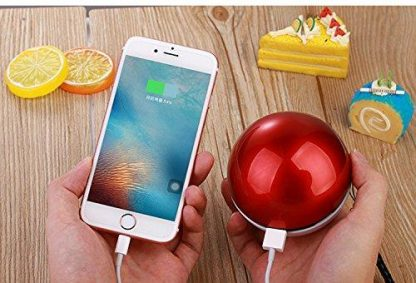 Pokeball 12000mAh Power Bank Battery Phone Portable dual USB Charger