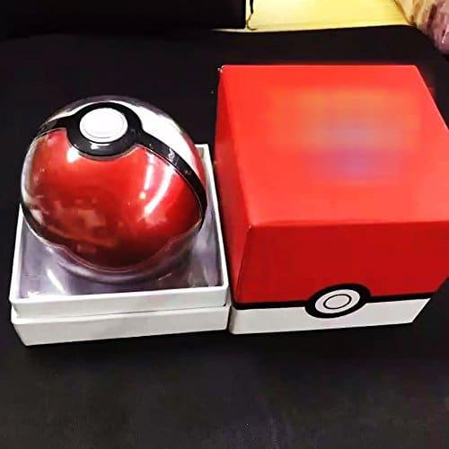 Pokemon Go Pokeball Power Bank,12000mAh Power Bank Charger LED Light Ver.