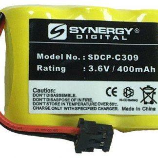 Radio Shack ET440 Cordless Phone Battery Ni-CD, 3.6 Volt, 350 mAh - Ultra Hi-Capacity - Replacement for Panasonic P-P301, Radio Shack 23-281, Sony BP-T16, Toshiba, Uniden BT-185 Rechargeable Battery