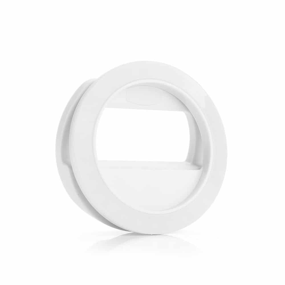 Rechargeable Selfie Ring Fill Light Portable Mini 30 LEDs with USB Charging Cable for iPhone 7/7 Plus /6/6s, S7/S7 Edge ,S6 Edge/S6