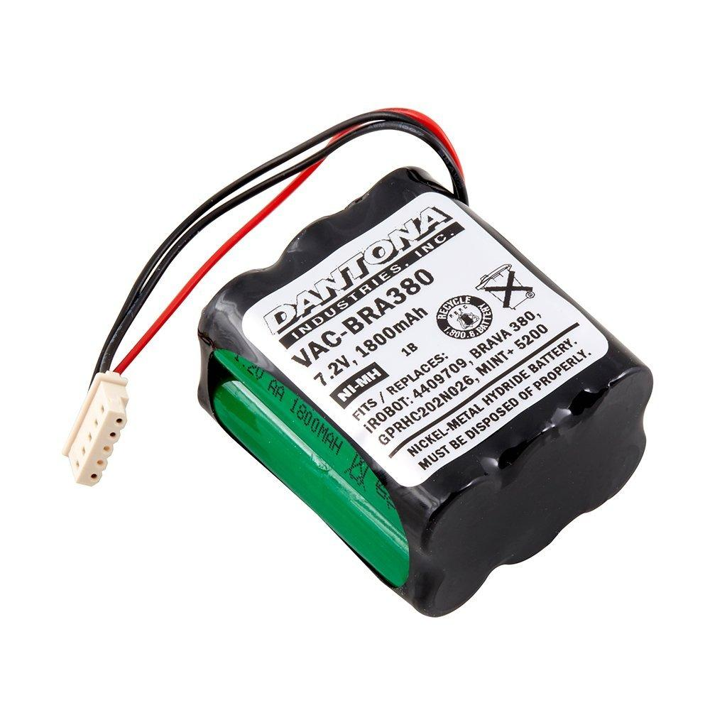 Replacement Battery for IROBOT BRAAVA Vacuum - VAC-BRA380