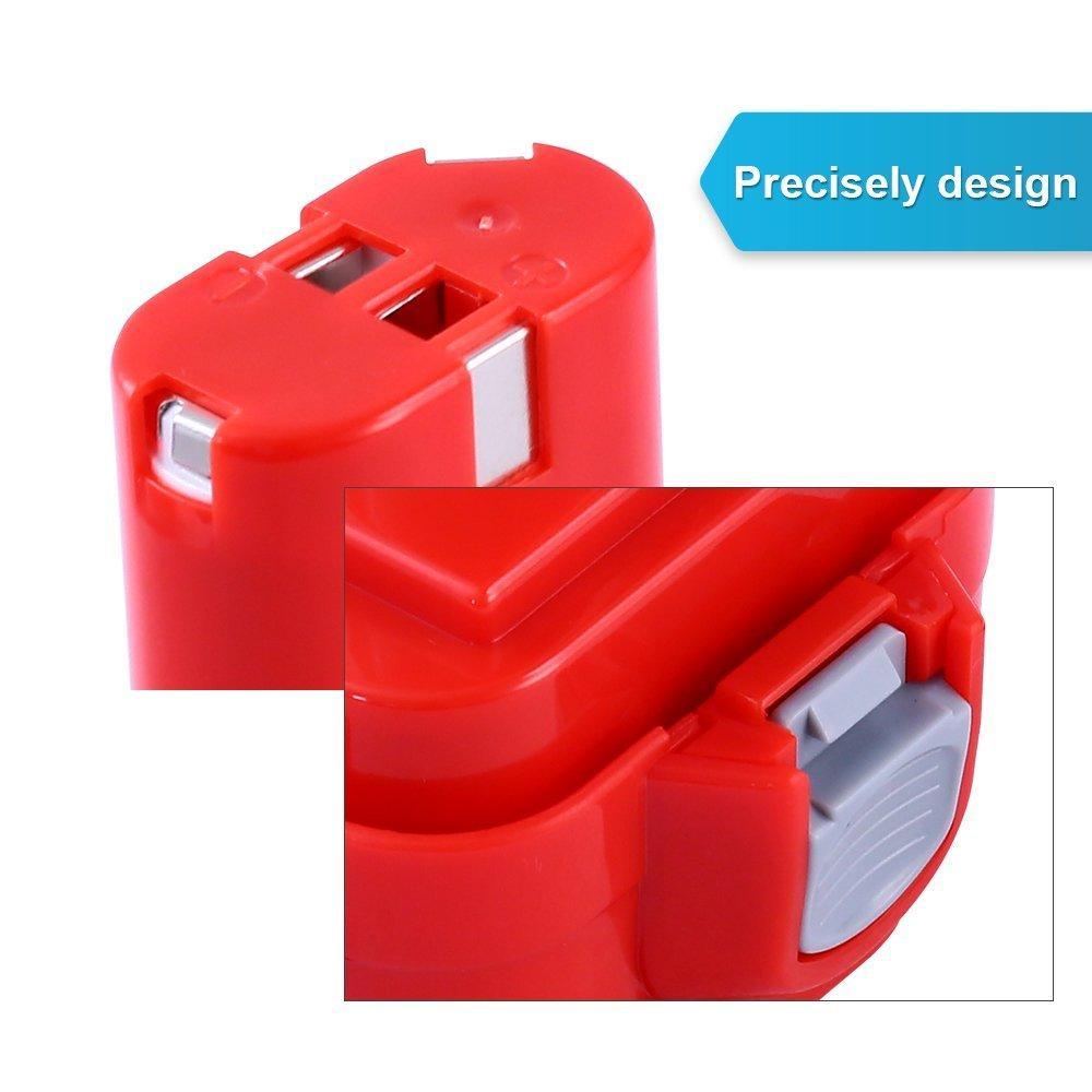 Replcement 9.6V 2.0Ah NI-CD Battery for Makita 9100/ 9120 / 9122 / 192595-8