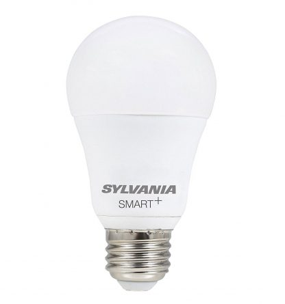 SYLVANIA SMART + A19 Full Color LED Bulb, Works with Apple Homekit and Siri Voice Control, No Hub Required, 74484 (Bluetooth Edition)