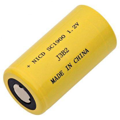 Single Cells Dantona SC-1900 Nickel Cadmium (NICD) Battery 1.2 Volts