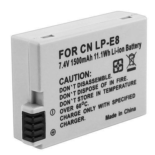 LP-E8 Compatible Li-ion Battery for Canon EOS Rebel T2i DLZ302C