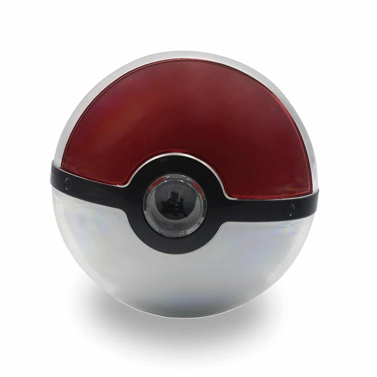Third Pokemon Go 12000mAh Poke Ball Power Bank USB LED External Battery Charger