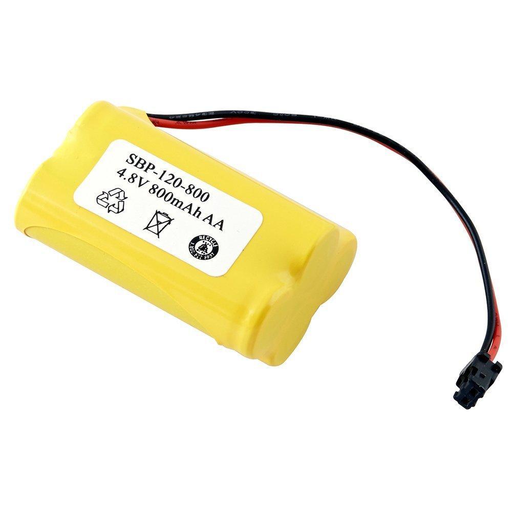 Two-way Radio Dantona SBP-120-800 Nickel Cadmium (NICD) Battery 4.8 Volts