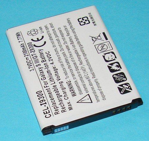 Ultralast CEL-I9300 Replacement Sam GT-19300 Galaxy SIII Battery