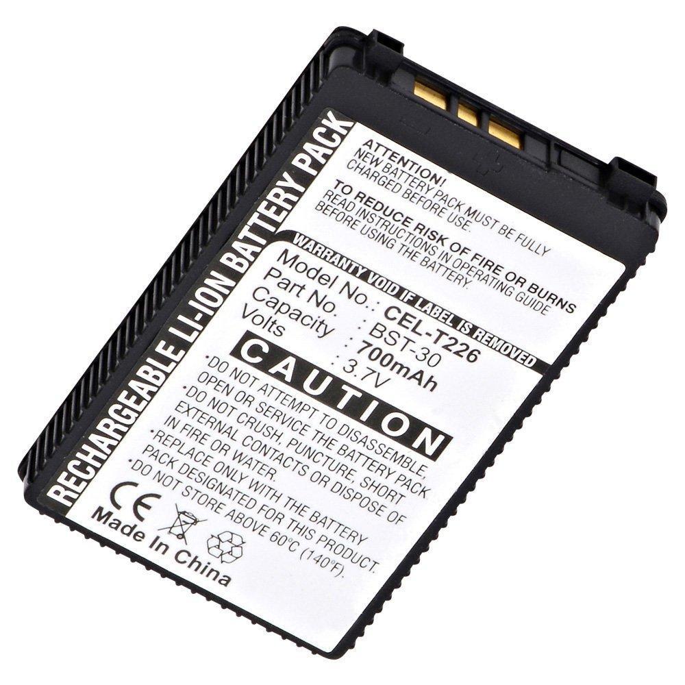 Ultralast CEL-T226 Cell Phone Lithium, Lithium Ion (ICR/CGR/LIR) V: 3.7 Battery