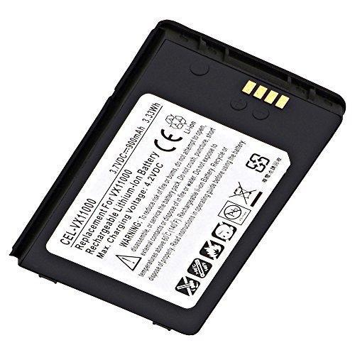 Ultralast CEL-VX11000 Cell Phone Lithium, Lithium Ion (ICR/CGR/LIR) V: 3.7 Battery