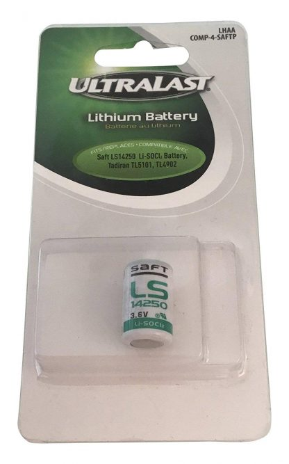 Ultralast LHAA Primary 1/2 AA Lithium Battery