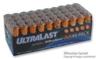 Ultralast UL40AAVP General Purpose Battery (UL40AAVP) -