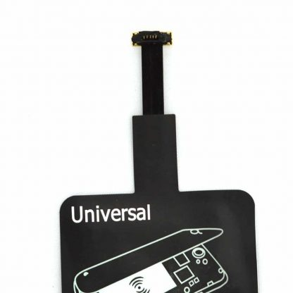 Brilite Universal Qi Wireless Charging Receiver for Android mobile phones for 5 Pin Micro USB