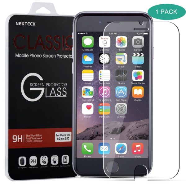 iPhone-6S-Screen-Protector-Nekteck-iPhone-6-6S-Ballistic-Glass-Screen-Protector-47-inch-ONLY-Tempered-Glass-02m-B015DPJ66K
