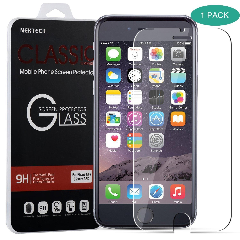 Brilite iPhone 6 6S Screen Protector Ballistic Glass Screen Protector (4.7 inch ONLY) Touch-screen Accurate Fit